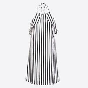 NWT J. Crew Striped Halter Dress